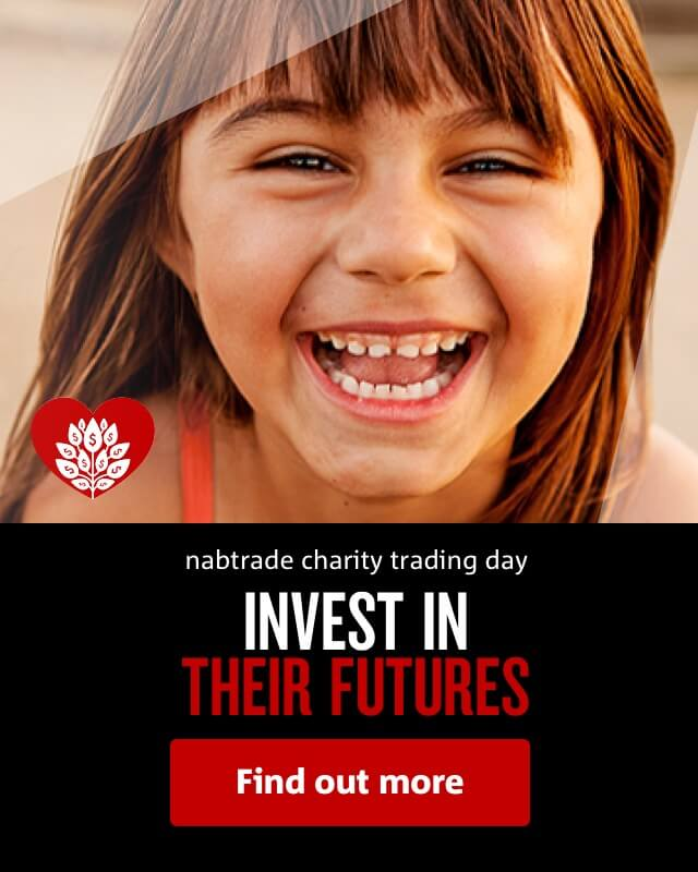 nabtrade charity trading day | INVEST IN THEIR FUTURES | Find out more